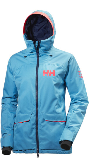 Helly Hansen W's Powderqueen Jacket Winter Aqua